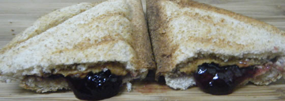 peanut butter and jelly sandwich recipe