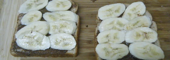 Nutella and Banana sandwich recipe